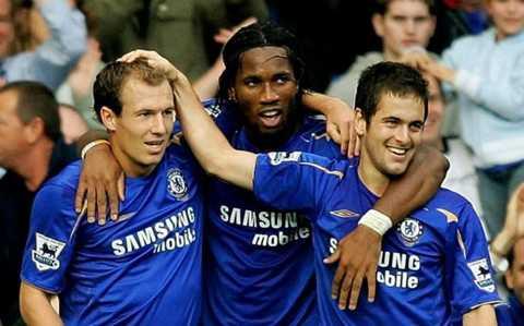 Chelsea của Jose Mourinho cũng rất lợi hại với lối chơi đơn giản