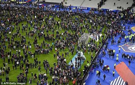 Mohamed Abrini được cho là chủ mưu của vụ khủng bố tại Paris năm ngoái, khi trận đấu giữa Pháp và Đức diễn ra trên sân Stade de France