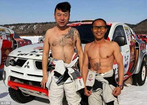 Ông Lương là thành viên nhiều tuổi nhất của Đội đua xe việt dã Trung Quốc