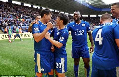 Leicester City đang tiến sát ngôi vô địch tại Anh
