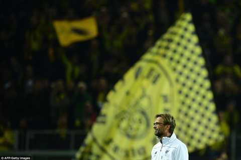 Jurgen Klopp đêm qua có ngày trở về Dortmund đáng nhớ