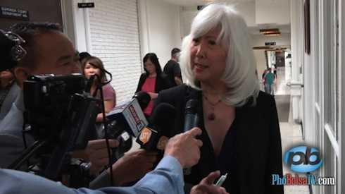 Luật sư biện hộ của Minh Béo, bà Mia Yamamoto