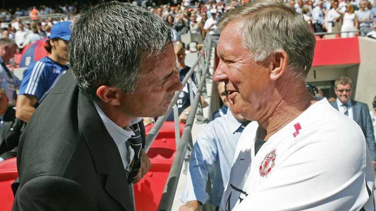 Mourinho rất tôn trọng Sir Alex Ferguson
