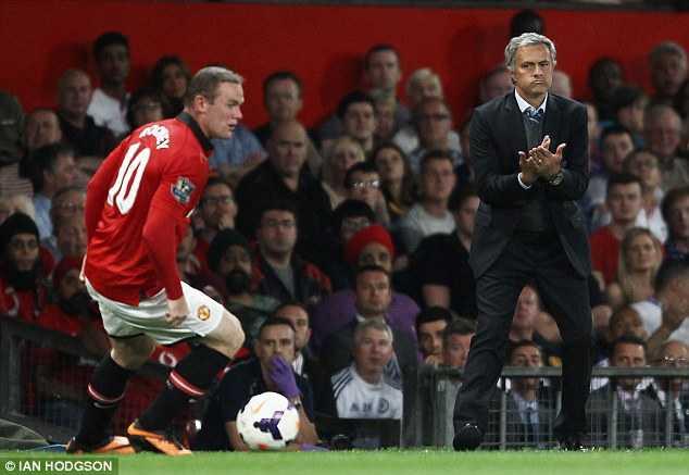 Mourinho không ít lần bày tỏ muốn có Wayne Rooney trong đội hình của ông