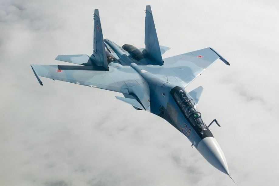 Chiến cơ Su-30 của quân đội Nga
