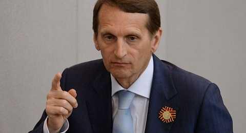 Chủ tịch Duma Quốc gia Nga ông Sergei Naryshkin