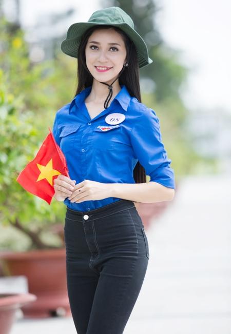 Dương Nguyễn Ngân Hoa (SN 1995, cao 1,66m; Cao đẳng Y tế Cần Thơ).
