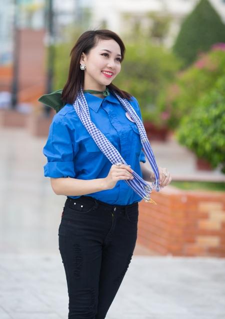 Trương Xuân Quỳnh (SN 1996, cao 1,62m; Trung cấp Văn hóa- Nghệ thuật Cần Thơ).