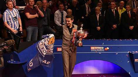 Niềm vui nhân đôi cho nhà vô địch giải Snooker thế giới