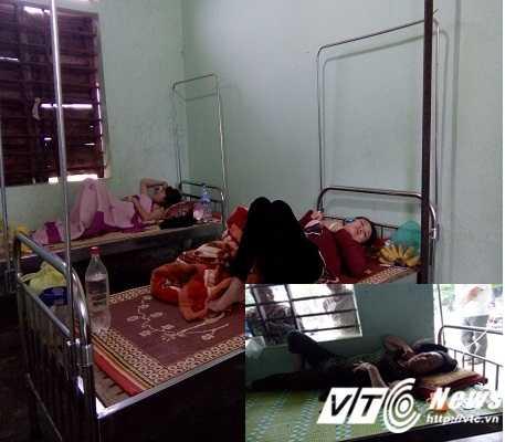 Sau khi ăn hải sản tại một nhà hàng ở Quảng Bình nhiều người đã bị ngộ độc.