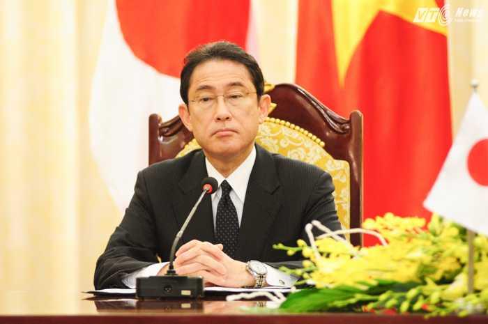 Ngoại trưởng Nhật Bản Fumio Kishida nhấn mạnh vai trò của ASEAN với vấn đề Biển Đông - Ảnh: Tùng Đinh