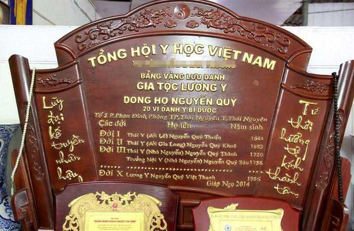 Gia phả dòng họ Nguyễn Quý