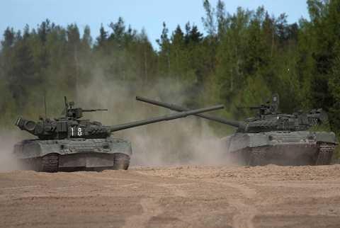 Xe tăng T-80 có thể sẵn sàng tác chiến chỉ sau 3 phút.