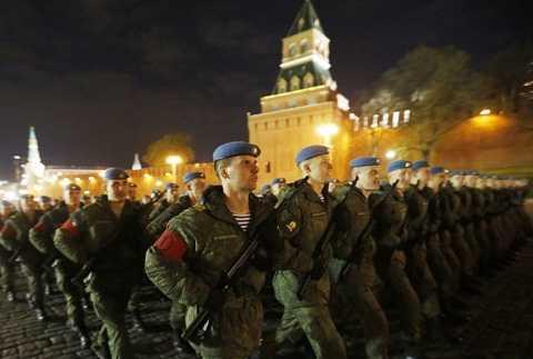 Theo thông tin từ Bộ Quốc phòng Nga, lễ duyệt binh ngày 9/5 tới diễn ra trên Quảng trường Đỏ sẽ có sự tham gia của 10.000 binh sĩ