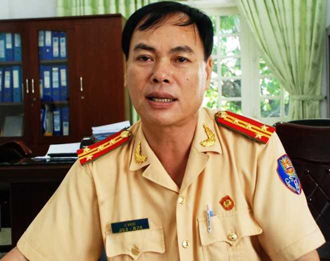 Đại tá Lê Ngọc - Trưởng phòng PC67, Công an TP Đà Nẵng. Ảnh: Đoàn Nguyên.