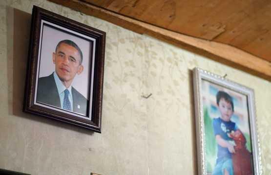 Bức ảnh ông Obama đã khiến cho cửa hàng ảnh này thu hút được sự chú ý của nhiều người