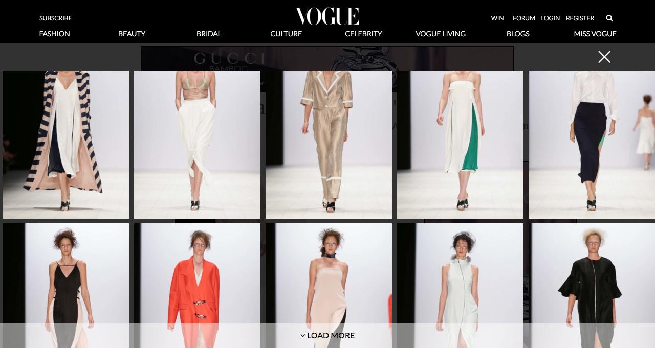 BST của Chad Nguyễn được giới thiệu trên tạp chí Vogue Úc