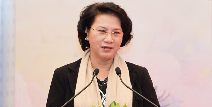 Bà Nguyễn Thị Kim Ngân được giới thiệu để bầu Chủ tịch Quốc hội