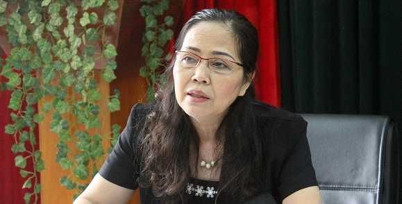 Bà Lê Thị Kim Oanh, Phó Chủ tịch Ủy ban Mặt trận Tổ quốc TP Hà Nội