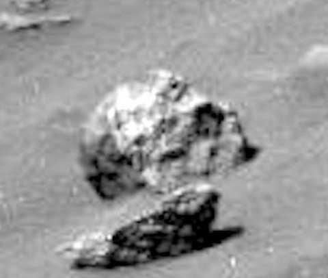 Phát hiện rất nhiều đầu lâu người ngoài hành tinh trên sao Hỏa. Ảnh Express