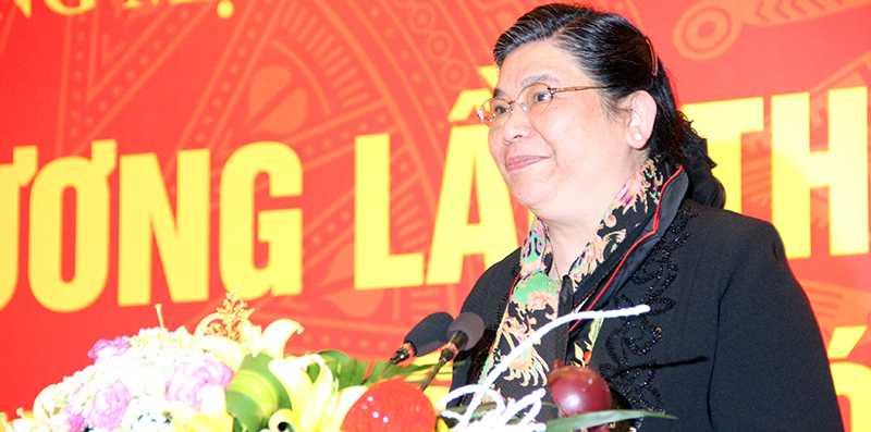 bà Tòng Thị Phóng, Phó Chủ tịch Quốc hội, Phó Chủ tịch Hội đồng bầu cử Quốc gia
