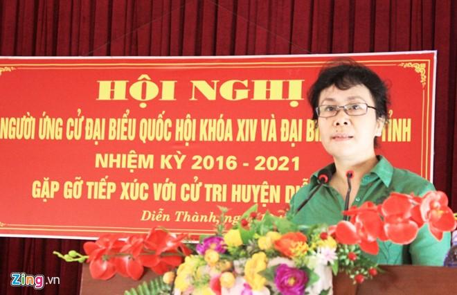 Bà Nguyễn Thị Vân Chi. Ảnh: Phạm Hòa.
