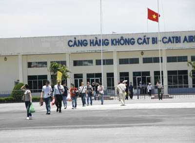 sân bay Cát Bi đạt được tốc độ tăng trưởng ấn tượng, trung bình đạt trên 20%/năm.