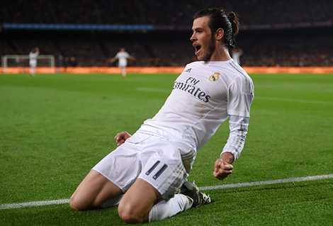 Gareth Bale ăn mừng hụt khi bàn thắng của anh không được công nhận