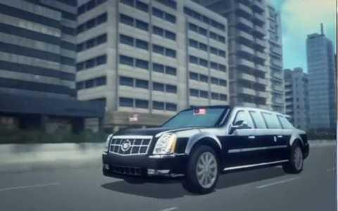 Chiếc Cadillac mang biệt danh Quái thú này có thể bảo vệ Tổng thống Mỹ trước các cuộc tấn công bằng bom đạn và cả vũ khí hóa học