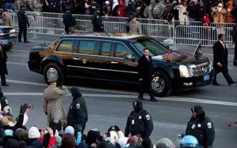 Cỗ máy bọc thép di động của đương kim Tổng thống Barack Obama là minh chứng cho sự bảo vệ nghiêm ngặt