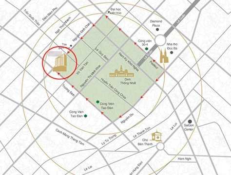 Dự án căn hộ cao cấp Léman Luxury Apartments trên đường Nguyễn Đình Chiểu, TP HCM do Công ty cổ phần C.T Phương Nam (thành viên Tập đoàn C.T Group) làm chủ đầu tư.