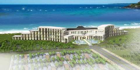 Phối cảnh khách sạn 5 sao FLC Luxury Hotel Quảng Bình