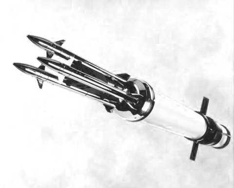 Thiết kế chứa 3 đạn con dẫn hướng laser độc đáo của hệ thống THOR.