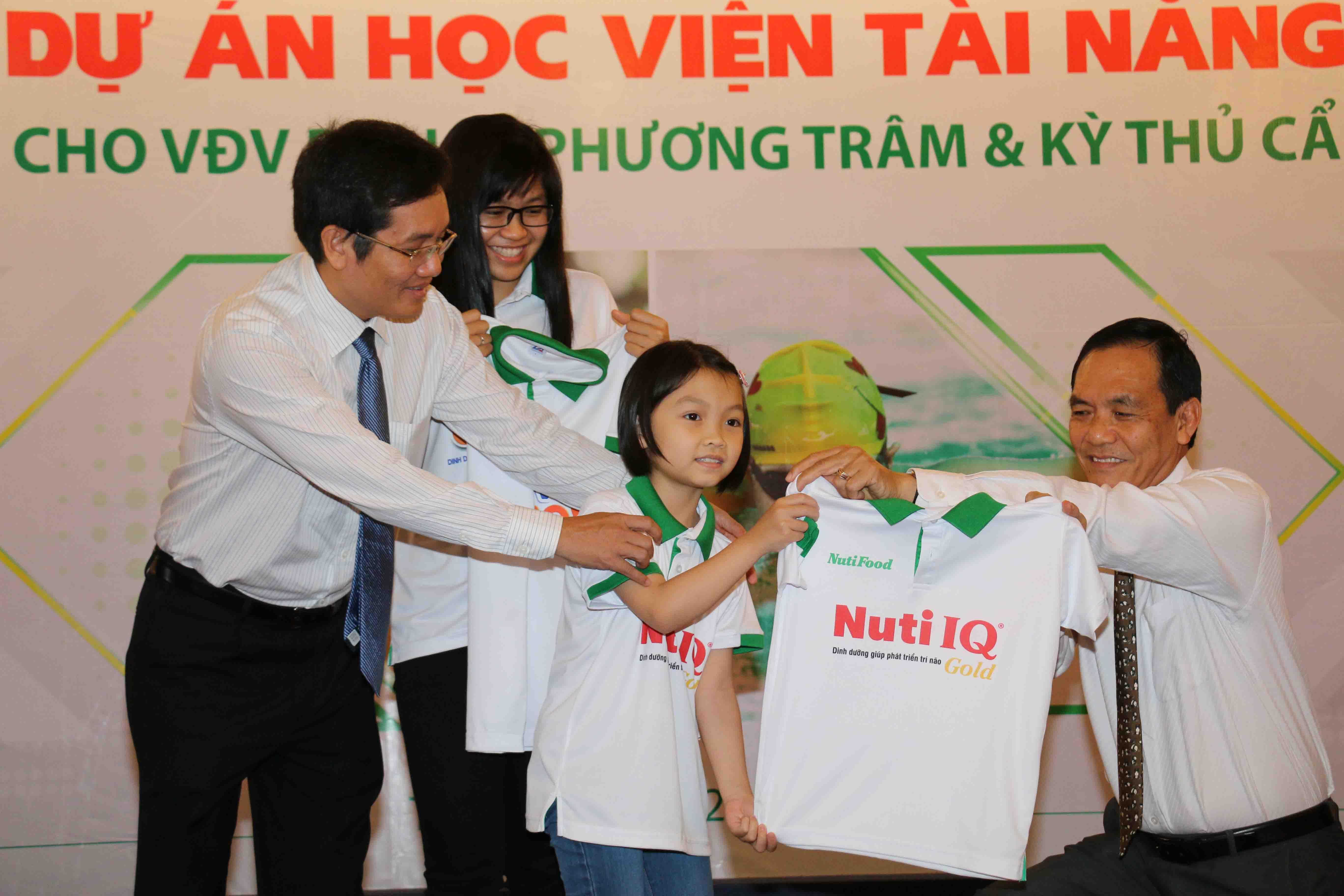 Nutifood trợ giúp các VĐV thể thao Việt Nam phát triển tiềm năng một cách tốt nhất