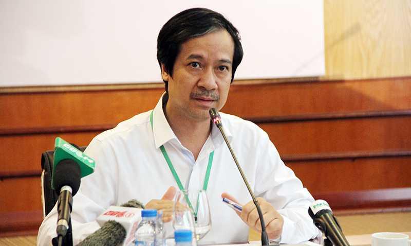 PGS Nguyễn Kim Sơn, Phó giám đốc ĐHQGHN (Ảnh: Phạm Thịnh)