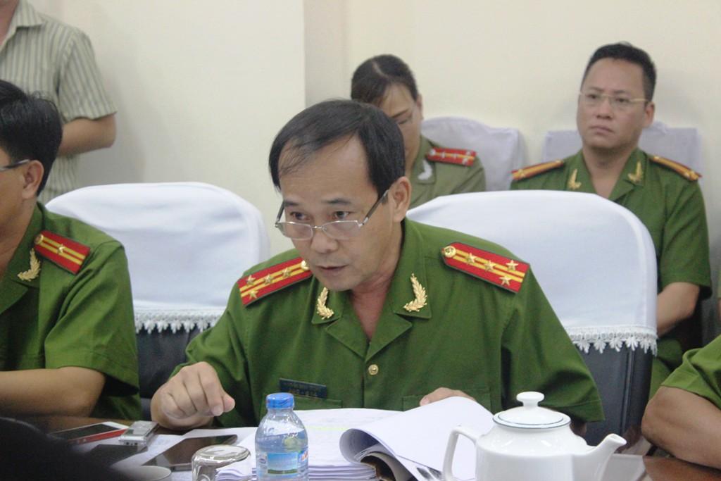 Đại tá Nguyễn Minh Thông: Đây là chuyện cần rút kinh nghiệm đối với các cơ quan điều tra - Ảnh: Vietnamnet