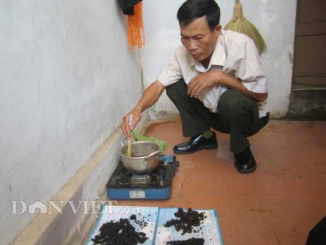 Ông Trần Đình Tự là người tung tin gạo giả xuất hiện ở Quảng Trị.