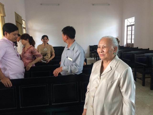 Bà Trường tại phiên tòa hoãn hôm 12 vừa qua.