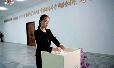 Em gái nhà lãnh đạo Kim Jong-un, Kim Yo-jong