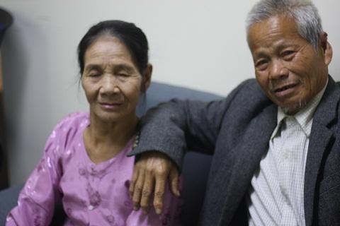 2 vợ chồng ông bà sống với nhau gần 47 năm nhưng chưa từng làm đám cưới - Ảnh Lâm Thắng