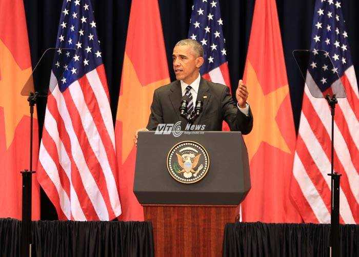 Tổng thống Obama: Nước lớn không được phép bắt nạt các nước nhỏ hơn