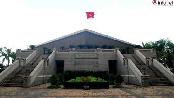 Đền thờ các vua Hùng tại Công viên Lịch sử - Văn hóa Dân tộc.