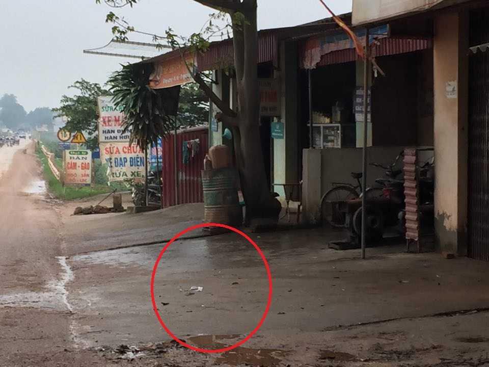 Hiện trường vụ việc - Ảnh Dân Việt