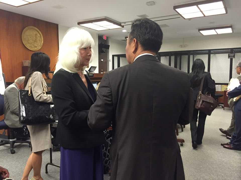 Những hình ảnh tại phiên tòa được Phố Bolsa gửi cho VTC News