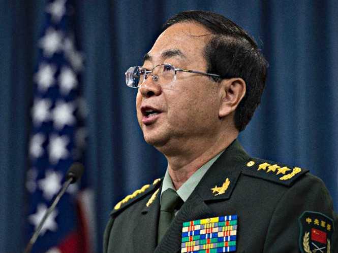 Tướng Phòng Phong Huy đổi giọng với Mỹ sau vụ tàu chiến Mỹ tuần tra bên trong đá Chữ Thập