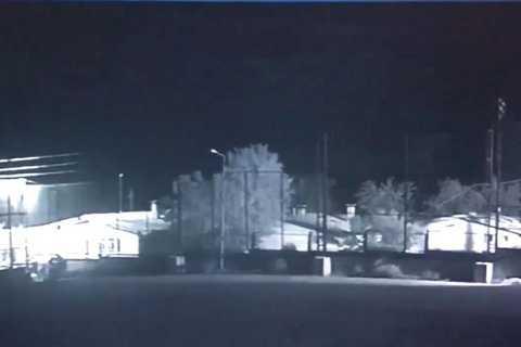 Người ngoài hành tinh đã xuất hiện trong thành trì của IS ở Thổ Nhĩ Kỳ và đã được CCTV quay lại.