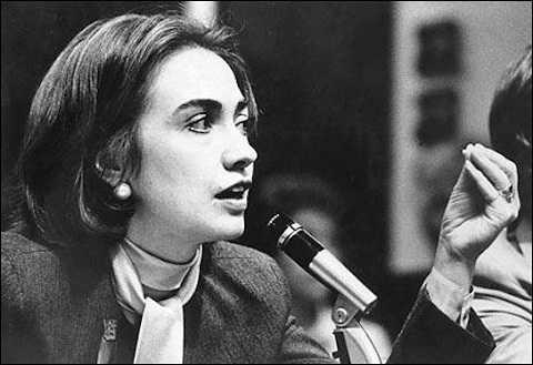 Cựu ngoại trưởng Clinton từng là một luật sư danh tiếng. Ảnh: Washington Free Beacon