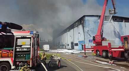 Hiện trường vụ cháy - Ảnh: FB Pham Quynh Nga