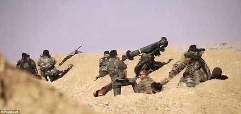 Lực lượng đặc nhiệm phương tây nhăm bắn mục tiêu
