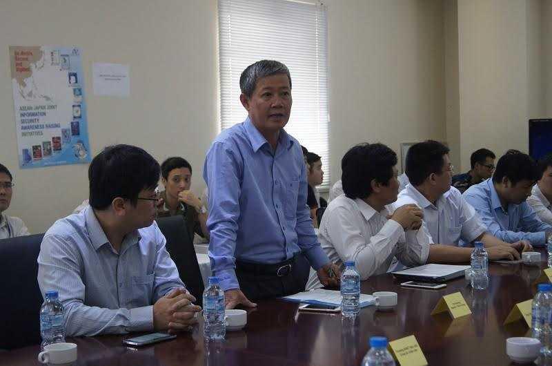 Thứ trưởng Bộ TTTT Nguyễn Thanh Hưng phát biểu khai mạc